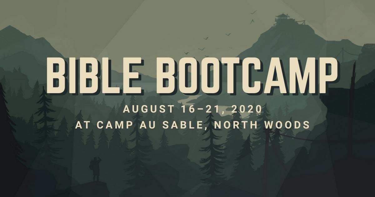 2020 Bible Bootcamp